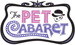 The Pet Cabaret logo, Roslindale, MA